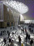 New Concourse  Kings Cross Station  London  England  United Kingdom  Europe