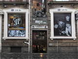 Beatles Shop  Mathew Street  Liverpool  Merseyside  England  United Kingdom  Europe