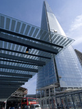 The Shard  Tallest Building in Western Europe  Designed by Renzo Piano  London  SE1  England
