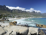 The Twelve Apostles  Camps Bay  Cape Town  Cape Province  South Africa  Africa