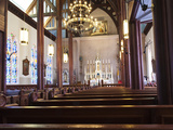 St Mary's in Mountains Church  Nevada's First Roman Catholic Church Built 1868  Virginia City  USA
