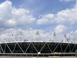 Stadium of the 2012 London Oiympics  Stratford  London  England  United Kingdom  Europe