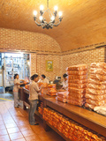 Packaging Coffee at Filadelfia Coffee Estate (R Dalton Coffee Company)  Antigua  Guatemala