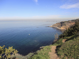 Palos Verdes  Peninsula on the Pacific Ocean  Los Angeles  California  USA  North America