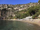 Mala Beach  Cap D'Ail  Cote D'Azur  Provence  French Riviera  Mediterranean  France  Europe