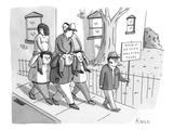 Double-Decker Walking Tours - New Yorker Cartoon