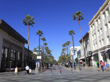 Third Street Promenade  Santa Monica  Los Angeles  California  USA  North America