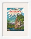 Pan American: Germany der Rhine  c1950s