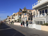 The Strand  Hermosa Beach  Los Angeles  California  United States of America  North America
