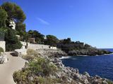 Coastal Path  Cap D'Ail  Cote D'Azur  Provence  French Riviera  Mediterranean  France  Europe