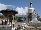 National Memorial Chorten  Thimpu  Bhutan  Asia