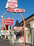 A Hollywood Wedding Chapel  Las Vegas  Nevada  United States of America  North America