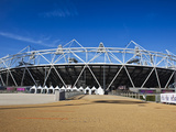 The Olympic Stadium Viewed from Stratford Way  London  England  United Kingdom  Europe