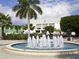 Heroes Square in George Town  Grand Cayman  Cayman Islands  Greater Antilles  Caribbean