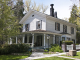 Historic G A Nourse and D A Bender House Dating from 1867  Carson City  Nevada  USA