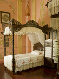 Classic Filipino Style Bedroom  University De La Salle Museum  Dasmarinas  Cavite  Philippines