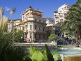 Casino Gardens  Monte Carlo  Monaco  Europe
