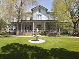 Historic Bliss Mansion Century Home Dating from 1879  Carson City  Nevada  USA  North America