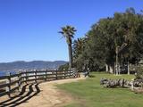 Palisades Park  Santa Monica  Los Angeles  California  Usa