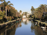 Venice Canals  Venice Beach  Los Angeles  California  United States of America  North America