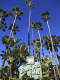 Sign for Beverly Hills Hotel  Beverly Hills  Los Angeles  California  Usa