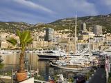 Yacht Marina in Port De Monaco  Monte Carlo City  Monaco  Mediterranean  Europe