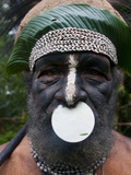 Tribal Chief  Pajo  Mount Hagen  Highlands  Papua New Guinea  Pacific