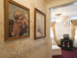 Marilyn Monroe's Room at Edith Palmer's Country Inn  Built in 1863  Virginia City  Nevada  USA