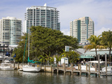 Dinner Key Marina in Coconut Grove  Miami  Florida  United States of America  North America