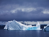 Iceberg Drifting Off the Antarctic Peninsula  Antarctica  Polar Regions