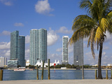 Miami Skyline  Florida  United States of America  North America