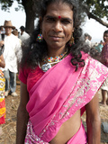 Launda Dancer  Transsexual Bihari Man Dressed as Woman to Dance  Sonepur Cattle Fair  Bihar  India