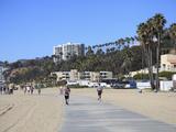 The Strand  Santa Monica  Los Angeles  California  United States of America  North America