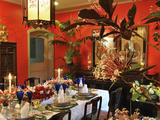 Elegant Tablesetting in Manila  Philippines  Southeast Asia  Asia