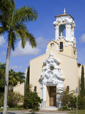 Historic Congregational Church  Coral Gables  Miami  Florida  USA  North America