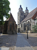 UNESCO World Heritage Site  Luther's Town of Wittenberg  Saxony-Anhalt  Germany