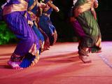 Women Dancers  Indian Traditional Dance Festival  Mamallapuram (Mahabalipuram)  Tamil Nadu  Inda