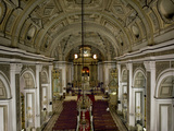 Interior of San Augustin Church  Survived American Bombing  UNESCO World Heritage Site  Philippines