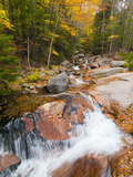 Franconia Notch State Park  New Hampshire  New England  United States of America  North America