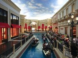 He Grand Canal Gondola Ride at the Venetian Resort Hotel Casino  Las Vegas  Nevada  USA