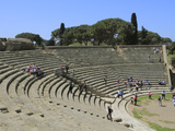 Roman Theatre  Ostia Antica  Latium  Lazio  Italy  Europe