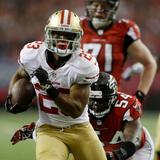 NFL Playoffs 2013: Falcons vs 49ers - LaMichael James