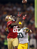 NFL Playoffs 2013: Packers vs 49ers - Vernon Davis