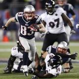 NFL Playoffs 2013: Patriots vs Ravens - Wes Welker
