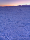 Badwater Salt Flats in Death Valley National Park  California  USA  North America