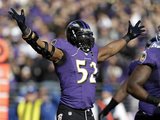 NFL Playoffs 2013: Colts vs Ravens - Ray Lewis