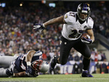 NFL Playoffs 2013: Patriots vs Ravens - Ray Rice
