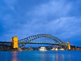 Sydney Harbour Bridge at Night  Sydney  New South Wales  Australia  Pacific