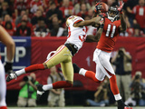 NFL Playoffs 2013: Falcons vs 49ers - Julio Jones