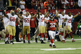 NFL Playoffs 2013: Falcons vs 49ers - 49ers Celebrate